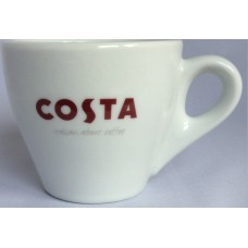 Costa Coffee Double Espresso Dopio Cup With Handle